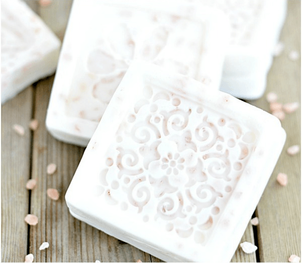 Pink Himalayan Salt Grapefruit Soap