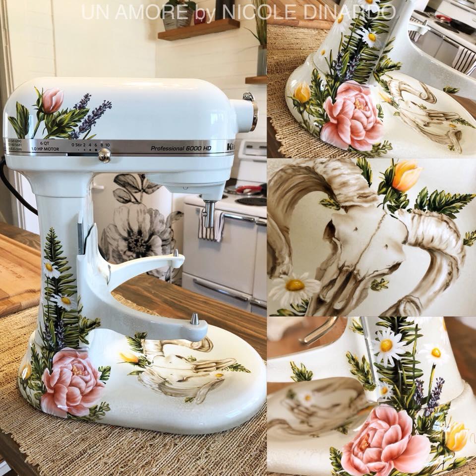 Floral KitchenAid Design