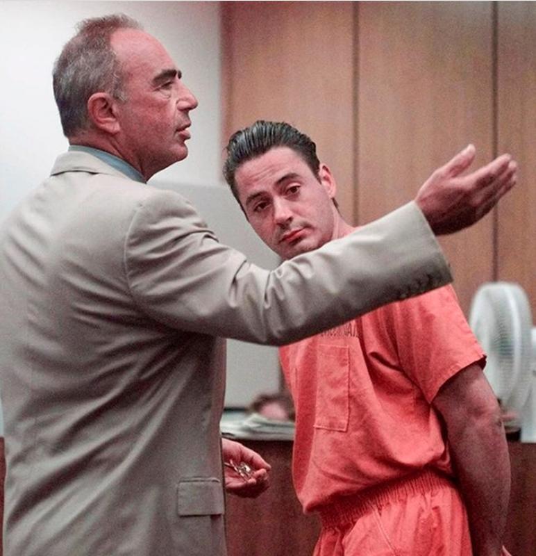 Robert Downey Jr. Being Sentenced In 1996