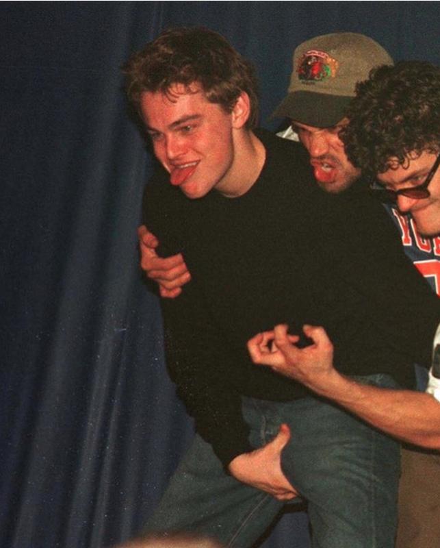 Leonardo DiCaprio At Bash Nightclub In 1998