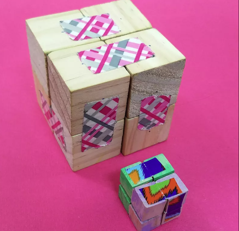 DIY Infinity Cube