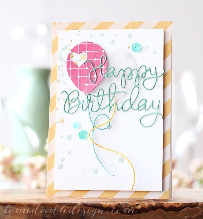 Paper Ballon Card