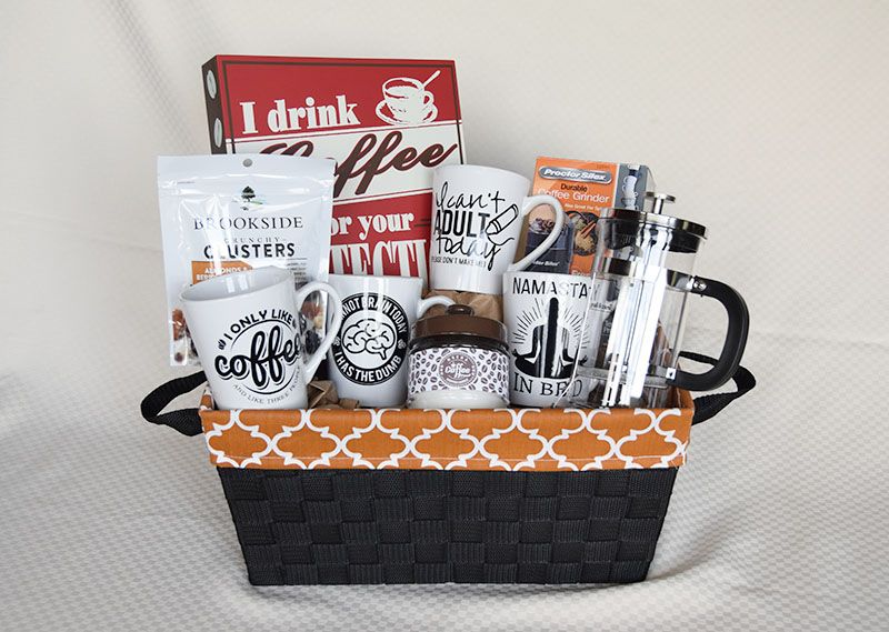 His & Her Coffee Gift Basket