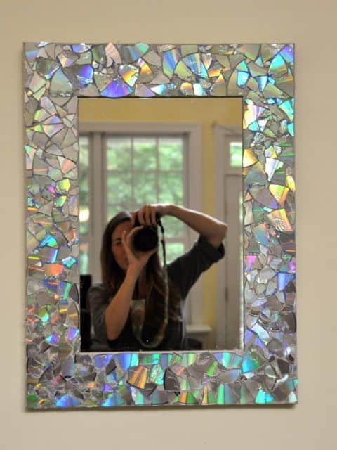 Mosaic CD Mirror