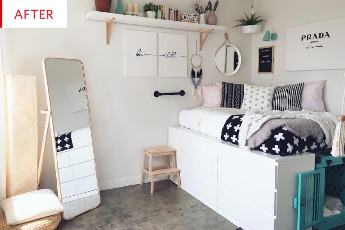 MALM Dresser Bedframe