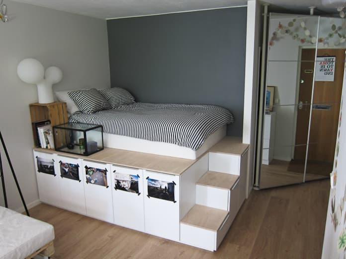Bedroom Kitchen Cabinets