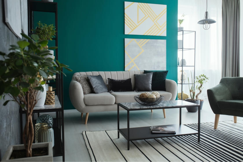 Accent Walls Take The Room To The Next Level