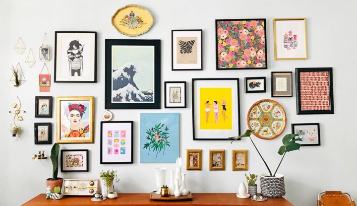 Gallery Walls Add Personality